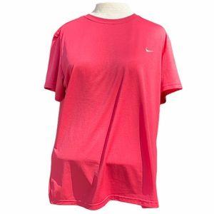 Nike Fit Dry short sleeve shirt, XL, Pink